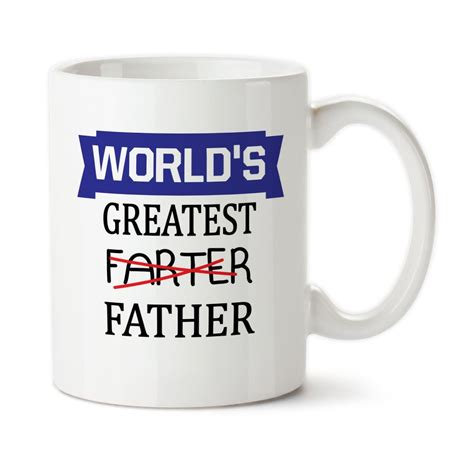 worlds greatest farter father funny mug fathers day