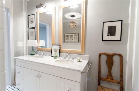gray paint colors transitional bathroom benjamin