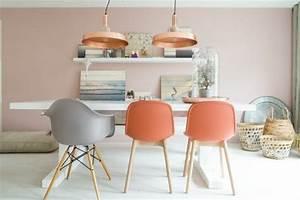 salon saumon et gris faire mieux pour votre maison With couleur peinture maison moderne 11 la couleur saumon les tendances chez les couleurs d