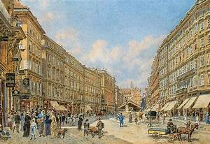 File Franz Alt U2013the Graben In Vienna  1885 Jpg