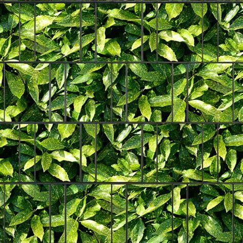 Sichtschutz Garten Ohne Zaun by Aukube Doppelstabmatten Sichtschutzstreifen Ohne Pvc