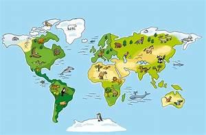 Weltkarte Kontinente Kinder : professor stachel erkundet die welt ~ A.2002-acura-tl-radio.info Haus und Dekorationen