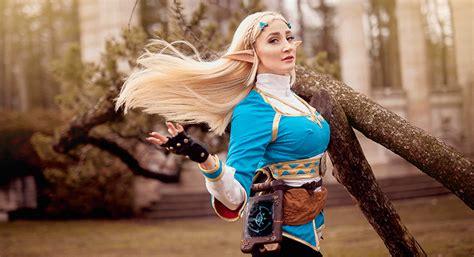 Here Comes The Zelda Breath Of The Wild Cosplay Kotaku
