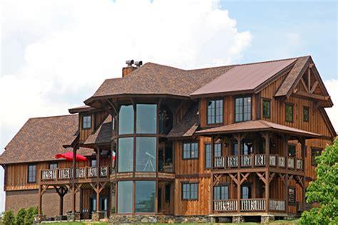 vista lodge  story luxury timber frame homes luxury log homes