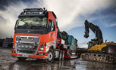 fh   heavy haulage volvo  northbank demolition