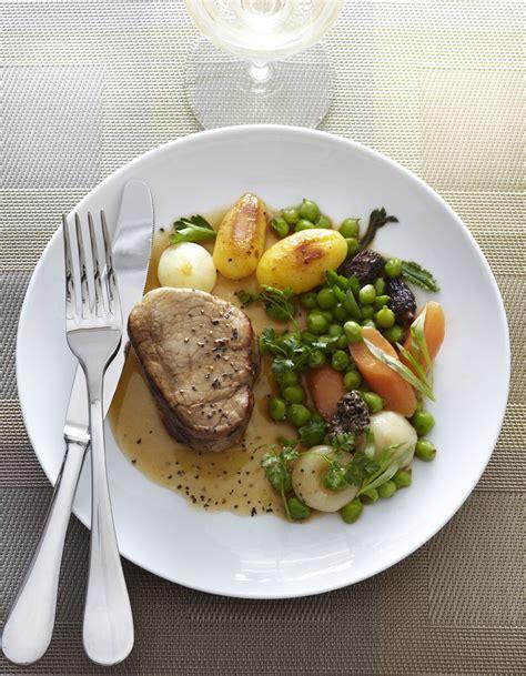 cuisine veau veau légumes et morilles pour 4 personnes recettes