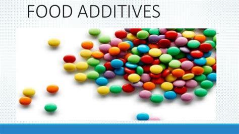 food additives