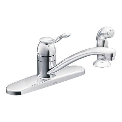 Moen Adler Faucet Aerator by Moen Adler Single Handle Low Arc Kitchen Faucet At Menards 174