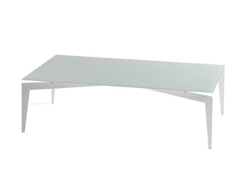 table basse en verre nordic