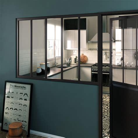 cuisine atelier une verrière d 39 intérieur au style industriel leroy merlin