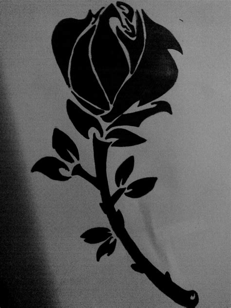 Tattoos for Men 2011: Tribal Rose Tattoos - Find Great