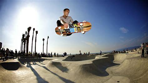 skate boarding ocean bowl skate park ocean city maryland usa