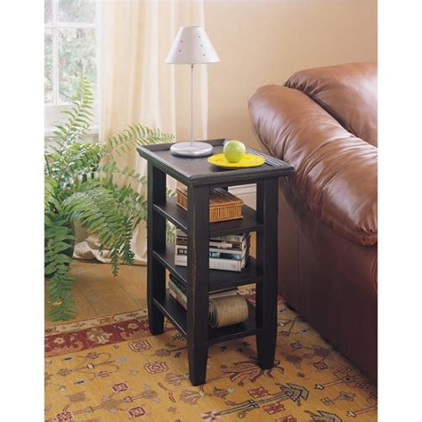 attic heirlooms accessory table 3397 07b broyhill furniture accessory table black