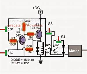 Simple Gate Open  Close Controller Circuit
