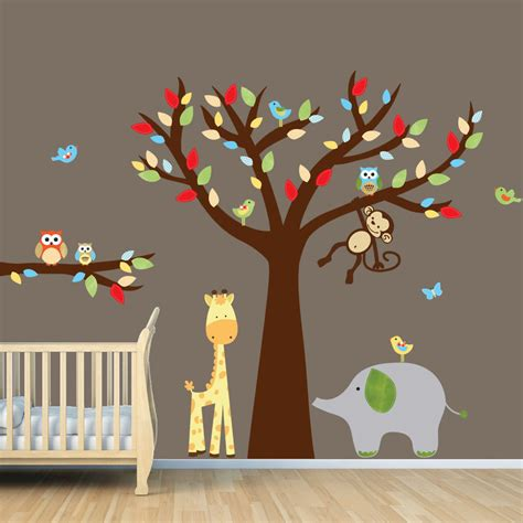 stickers deco chambre nursery wall decor casual cottage
