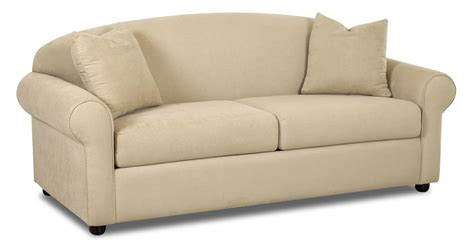Value City Sleeper Sofa by Klaussner Possibilities Innerspring Regular Sleeper Sofa