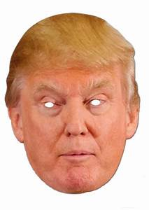 Donald Trump Mask Halloween President Candidate Poster