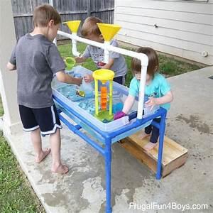 Table Jeux D Eau : diy table jeu d 39 eau en pvc juuns bug jeux d eau ~ Melissatoandfro.com Idées de Décoration