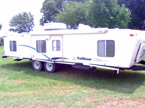 small cing trailers this item has been sold recreational vehicles travel trailers 2004 trailmanor 3326 king