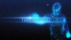 intro iron man holograma plantilla editable after With adobe after effect intro templates