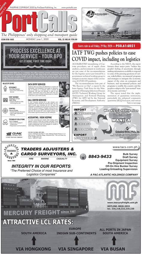 .(gcq) in the national capital region, bulacan, cavite, laguna and rizal, or ncr plus, starting june 1 until june 15, 2021 the rest of the country will be under modified gcq for the whole month. PortCalls June 1, 2020 - PortCalls Asia