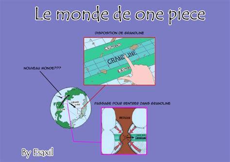 Carte Nouveau Monde Inscription by Une Carte De Grand Line