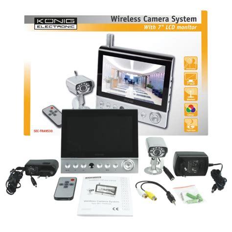 kit surveillance sans fil ecran 7 quot et mini