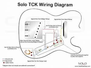Telecaster Thinline Wiring Schematic