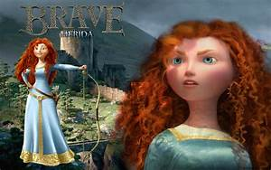 Brave Merida - Brave Wallpaper (32908223) - Fanpop