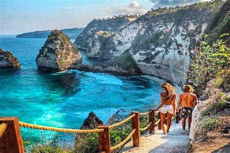 diamond beach objek wisata terbaru  nusa penida paket
