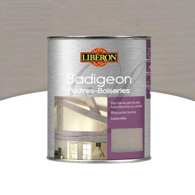 fermer une cuisine ouverte badigeon poutres et boiseries bois grisé 1l castorama