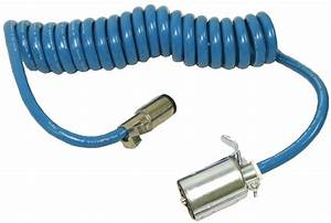Blue Ox Bx88206 Trailer Harness Connector Coiled Cable
