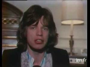 Mick Jagger - Interview France 1971 - YouTube