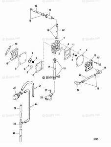 Mercury Mercury  U0026 Mariner Outboard Parts By Hp  U0026 Liter 50hp Oem Parts Diagram For Fuel Pump