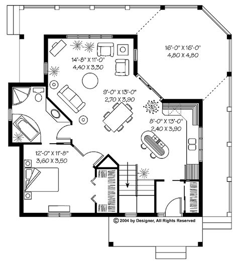 One Bedroom House Floor Plans by Fascinating One Bedroom Cottage Floor Plans Collection