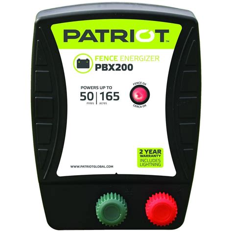 patriot pbx200 battery energizer 1 9 joule 818352 the home depot