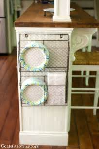 kitchen island storage 65 ingenious kitchen organization tips and storage ideas