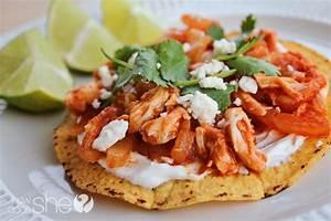 tostadas de tinga mexican tinga tostadas