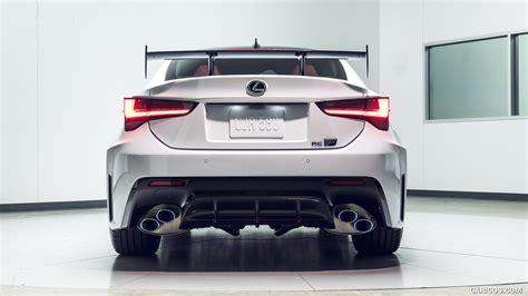 lexus rc  track edition rear hd wallpaper