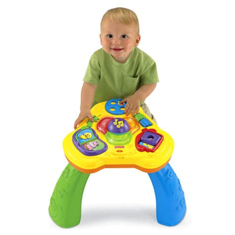 fisher price activity table lights sounds activity table