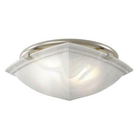 broan nutone 766bn decorative brushed nickel fan light