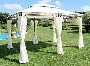 Gartenpavillon Metall 3x4 : 52 rabatt auf eleganter garten pavillon gartenpavillon ~ Whattoseeinmadrid.com Haus und Dekorationen