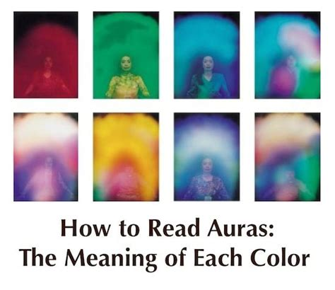 colors of aura how to read auras aura colors meaning significados da