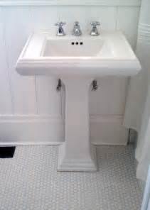 Memoirs Pedestal Sink Kohler by Barbaralclark Page 75 Classic Bathroom With Pale