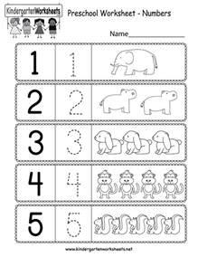 Printable Number Worksheets Free Printable Preschool Writing Numbers Worksheets