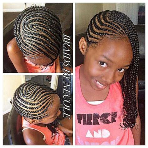 Kid Braid Black Hairstyles by Cornrows Hair Style Braids
