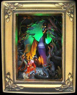 fiery encounter gallery  light box