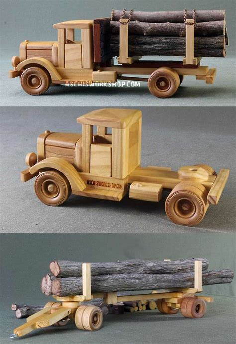 images  toy wood trucks  pinterest toys