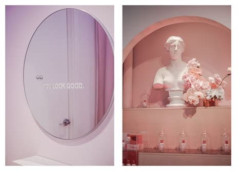 york city glossier showroom vickii ma food