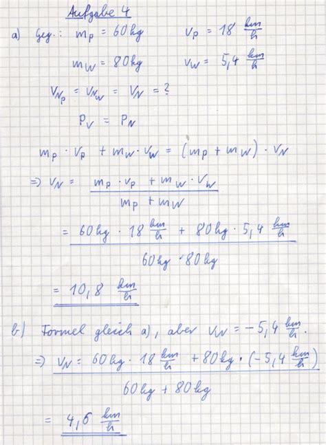physik arbeitsblatt impuls loesungen rmg wiki